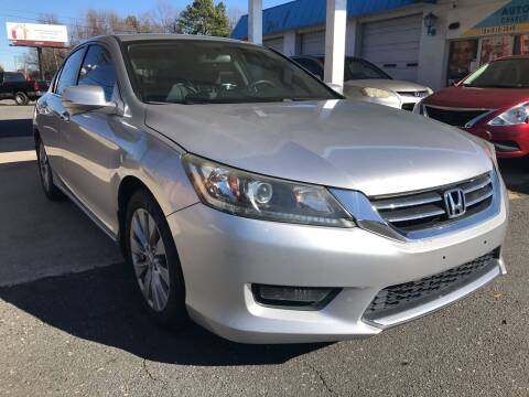 2014 Honda Accord for sale at Auto Smart Charlotte in Charlotte NC