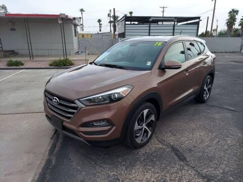 2016 Hyundai Tucson for sale at Century Auto Sales in Apache Junction AZ