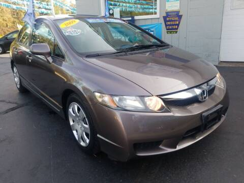 2009 Honda Civic for sale at Fleetwing Auto Sales in Erie PA