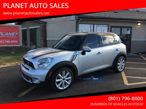 2011 MINI Cooper Countryman for sale at PLANET AUTO SALES in Lindon UT