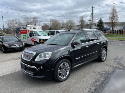 2012 GMC Acadia for sale at Candlewood Valley Motors in New Milford CT
