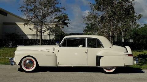 1947 Lincoln Continental for sale at Premier Luxury Cars in Oakland Park FL
