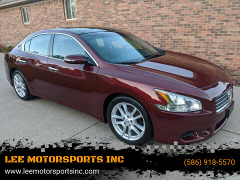 2011 Nissan Maxima for sale at LEE MOTORSPORTS INC in Mount Clemens MI