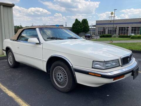 1991 Chrysler TC for sale at Ace Motors in Saint Charles MO