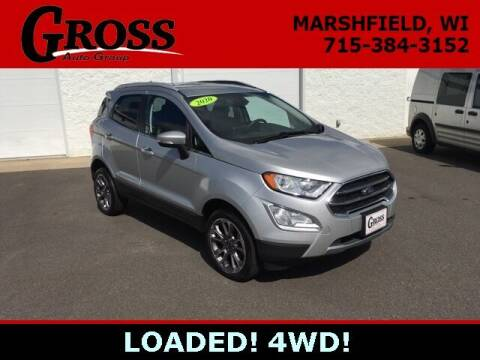 2020 Ford EcoSport for sale at Gross Motors of Marshfield in Marshfield WI