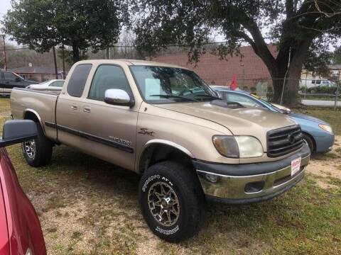 2002 Toyota Tundra for sale at Spartan Auto Sales in Beaumont TX