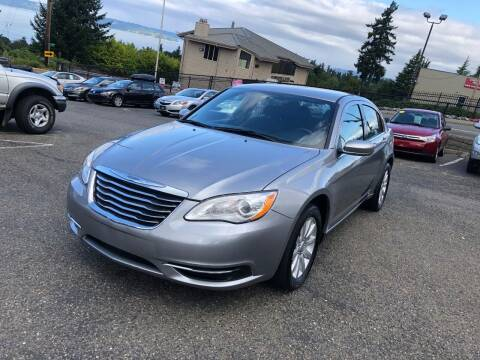 2013 Chrysler 200 for sale at KARMA AUTO SALES in Federal Way WA