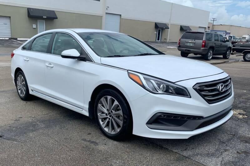 2017 Hyundai Sonata for sale at FINE AUTO XCHANGE in Oakland Park FL