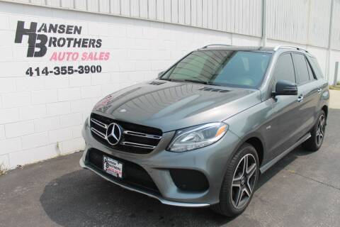 2017 Mercedes-Benz GLE for sale at HANSEN BROTHERS AUTO SALES in Milwaukee WI