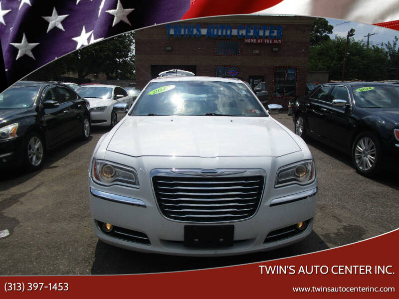 2012 Chrysler 300 for sale at Twin's Auto Center Inc. in Detroit MI