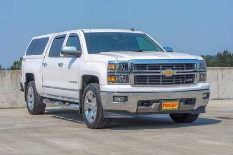 2014 Chevrolet Silverado 1500 for sale at Chevrolet Buick GMC of Puyallup in Puyallup WA