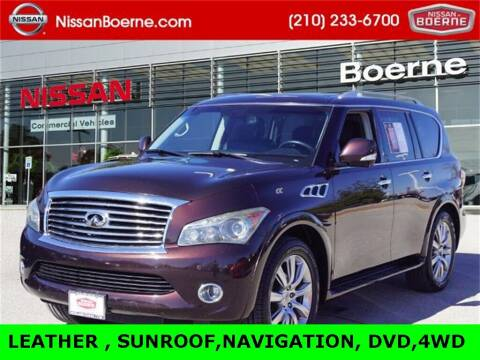 2013 Infiniti QX56 for sale at Nissan of Boerne in Boerne TX