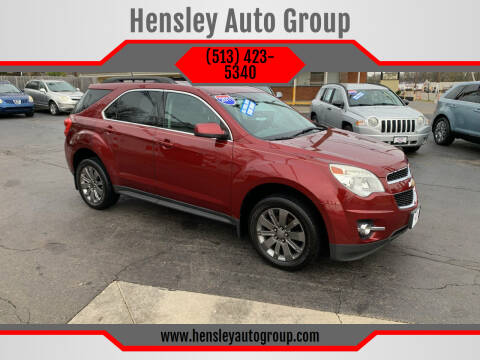2011 Chevrolet Equinox for sale at Hensley Auto Group in Middletown OH