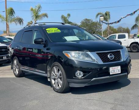 2013 Nissan Pathfinder for sale at Esquivel Auto Depot in Rialto CA