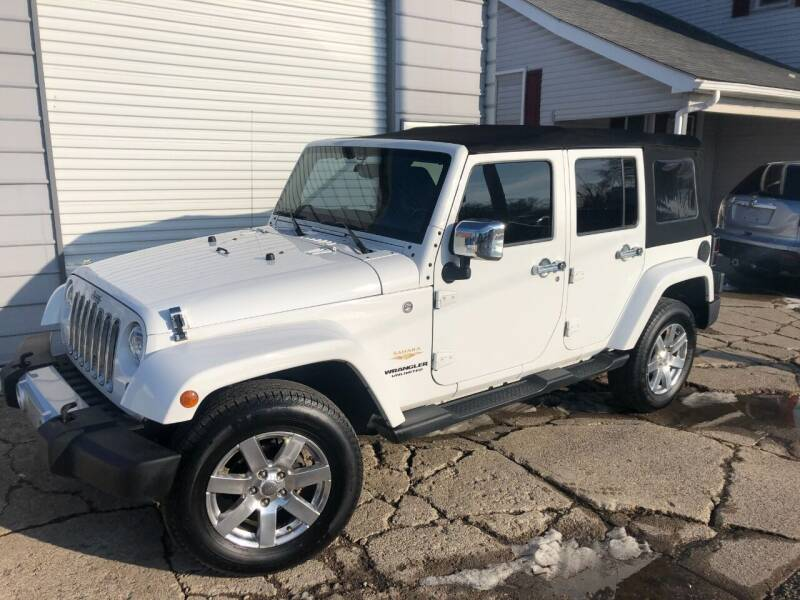 2014 Jeep Wrangler Unlimited for sale at Kramer Motor Co INC in Shelbyville IN