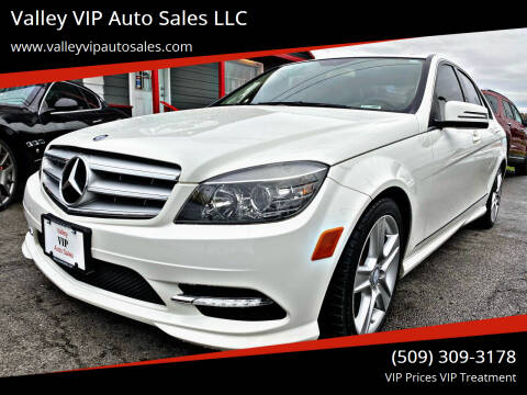 2011 Mercedes-Benz C-Class for sale at Valley VIP Auto Sales LLC in Spokane Valley WA