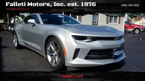2018 Chevrolet Camaro for sale at Falleti Motors, Inc.  est. 1976 in Batavia NY