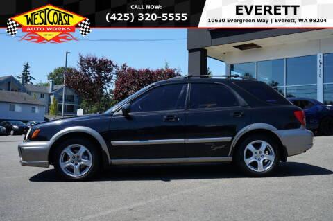 2003 Subaru Impreza for sale at West Coast Auto Works in Edmonds WA