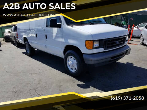 2007 Ford E-Series Cargo for sale at A2B AUTO SALES in Chula Vista CA