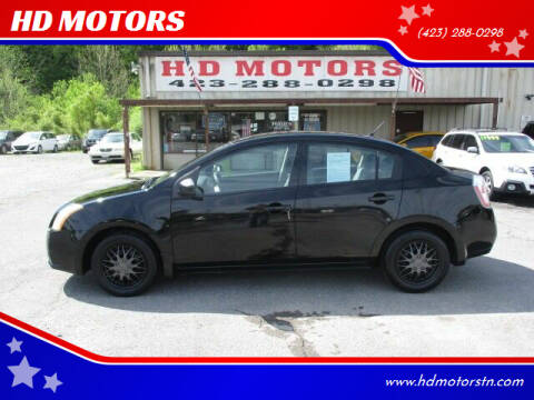 2008 Nissan Sentra for sale at HD MOTORS in Kingsport TN