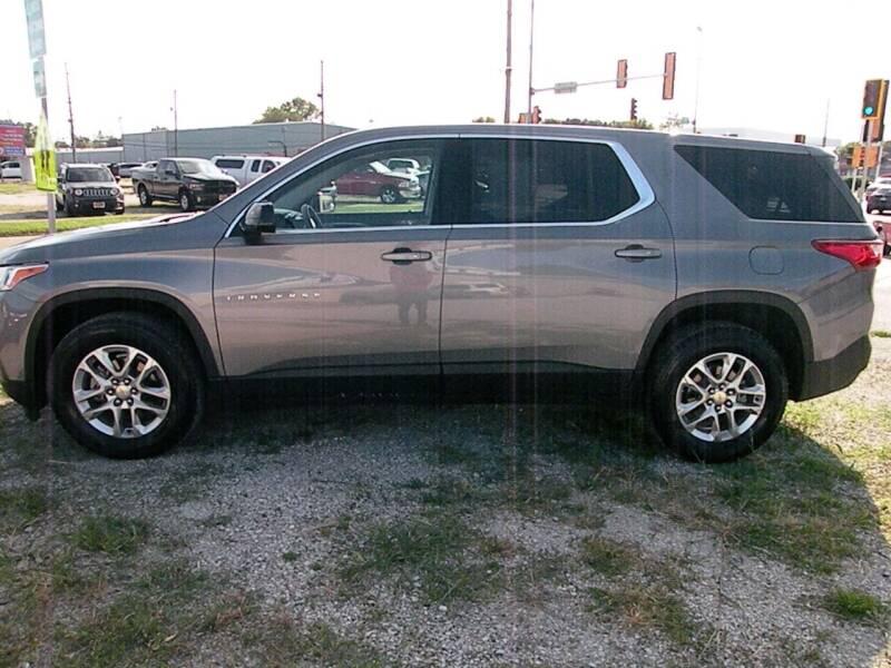 2018 Chevrolet Traverse for sale at Kingdom Auto Centers in Litchfield IL