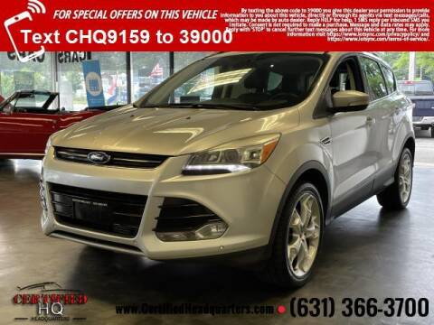 2013 Ford Escape for sale at CERTIFIED HEADQUARTERS in Saint James NY