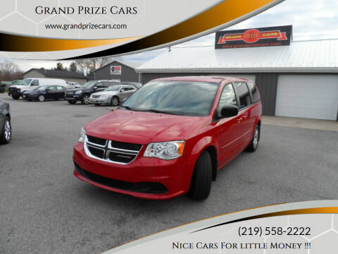 2012 Dodge Grand Caravan for sale at Grand Prize Cars in Cedar Lake IN