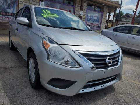 2015 Nissan Versa for sale at USA Auto Brokers in Houston TX