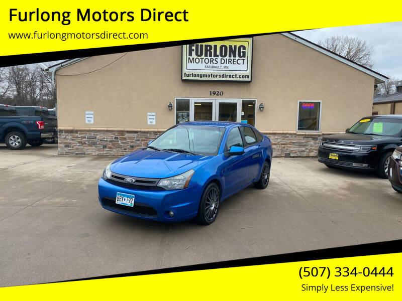 2011 Ford Focus for sale at Furlong Motors Direct in Faribault MN