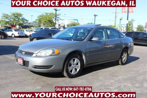 2007 Chevrolet Impala for sale at Your Choice Autos - Waukegan in Waukegan IL