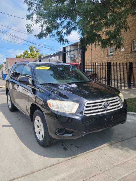 2009 Toyota Highlander for sale at MACK'S MOTOR SALES in Chicago IL