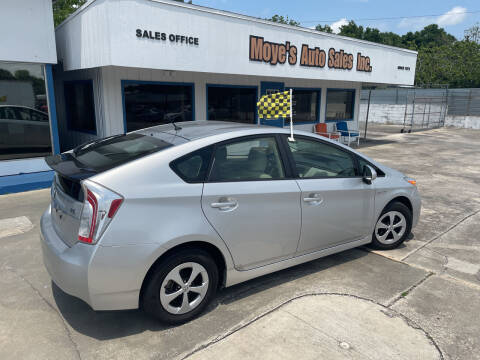 2015 Toyota Prius for sale at Moye's Auto Sales Inc. in Leesburg FL