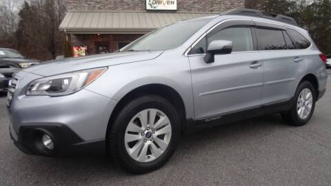 2016 Subaru Outback for sale at Driven Pre-Owned in Lenoir NC