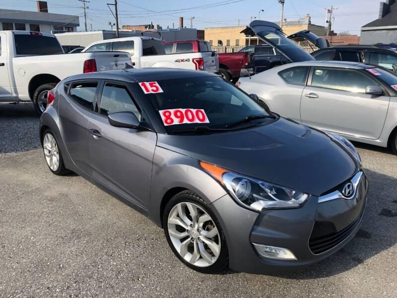 2015 Hyundai Veloster for sale at Kramer Motor Co INC in Shelbyville IN