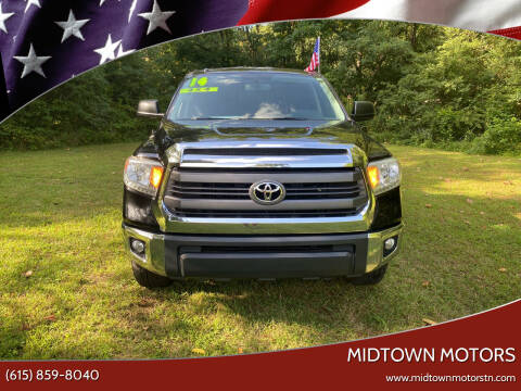2014 Toyota Tundra for sale at Midtown Motors in Greenbrier TN