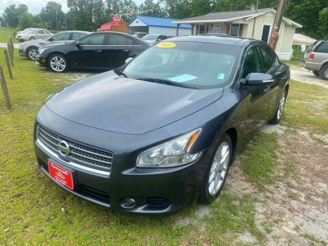 2009 Nissan Maxima for sale at Southtown Auto Sales in Whiteville NC