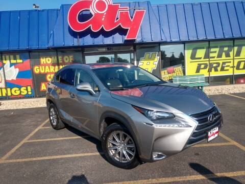 2017 Lexus NX 200t for sale at CITY SELECT MOTORS in Galesburg IL