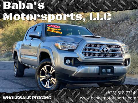 2017 Toyota Tacoma for sale at Baba's Motorsports, LLC in Phoenix AZ