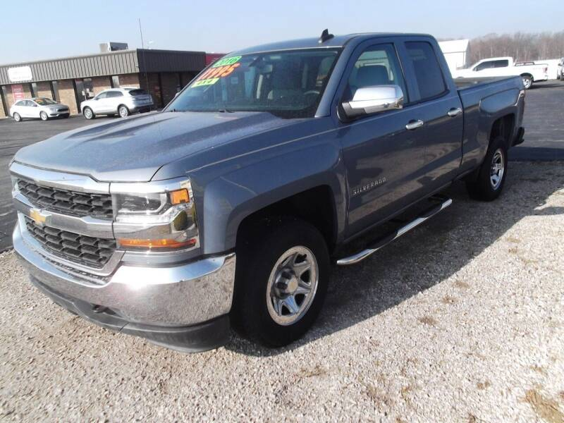 2016 Chevrolet Silverado 1500 for sale at Dietsch Sales & Svc Inc in Edgerton OH