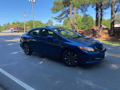 2014 Honda Civic for sale at THE AUTO FINDERS in Durham NC