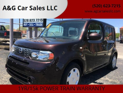 2011 Nissan cube for sale at A&G Car Sales  LLC in Tucson AZ