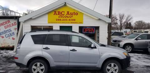 2007 Mitsubishi Outlander for sale at ABC AUTO CLINIC - Chubbuck in Chubbuck ID