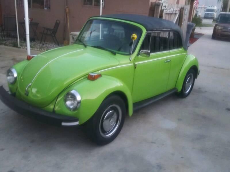 1973 Volkswagen Super Beetle for sale at Love's Auto Group in Boynton Beach FL