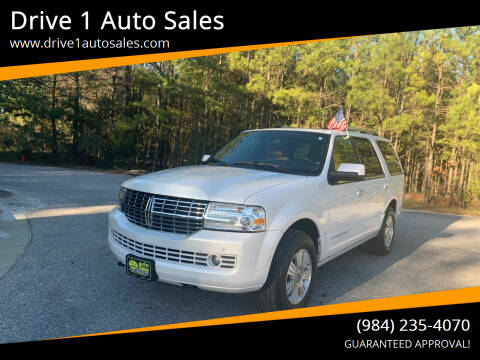 2012 Lincoln Navigator for sale at Drive 1 Auto Sales in Wake Forest NC