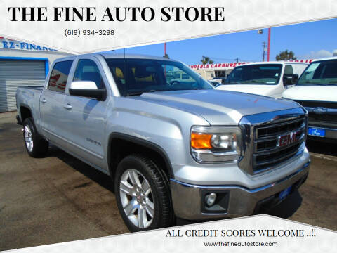 2014 GMC Sierra 1500 for sale at The Fine Auto Store in Imperial Beach CA