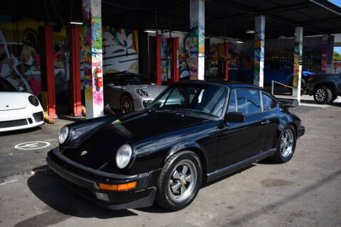 1985 Porsche 911 for sale at ELITE MOTOR CARS OF MIAMI in Miami FL