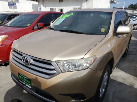 2011 Toyota Highlander for sale at Express Auto Sales in Los Angeles CA