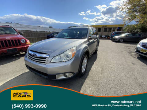 2010 Subaru Outback for sale at Mix Cars in Fredericksburg VA