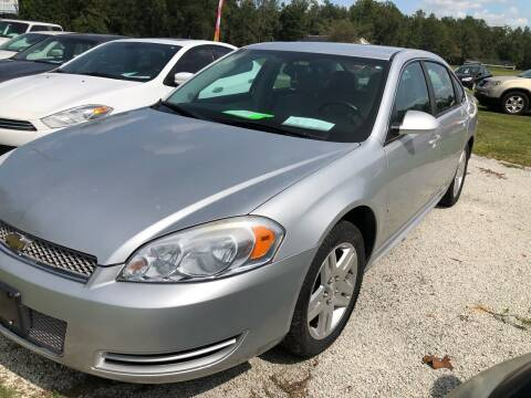 2012 Chevrolet Impala for sale at IH Auto Sales in Jacksonville NC