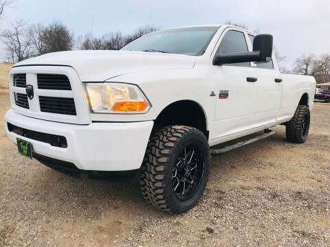 2012 RAM Ram Pickup 2500 for sale at The Truck Shop in Okemah OK